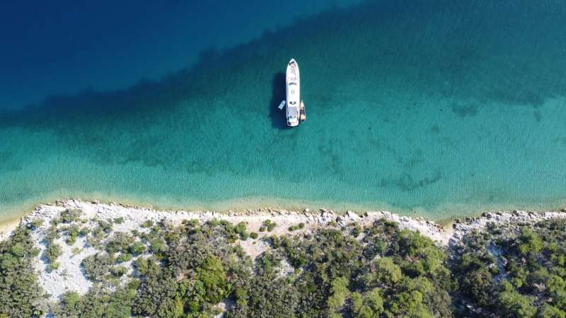 Top 3 nature cruising grounds for a luxury yacht charter in Croatia