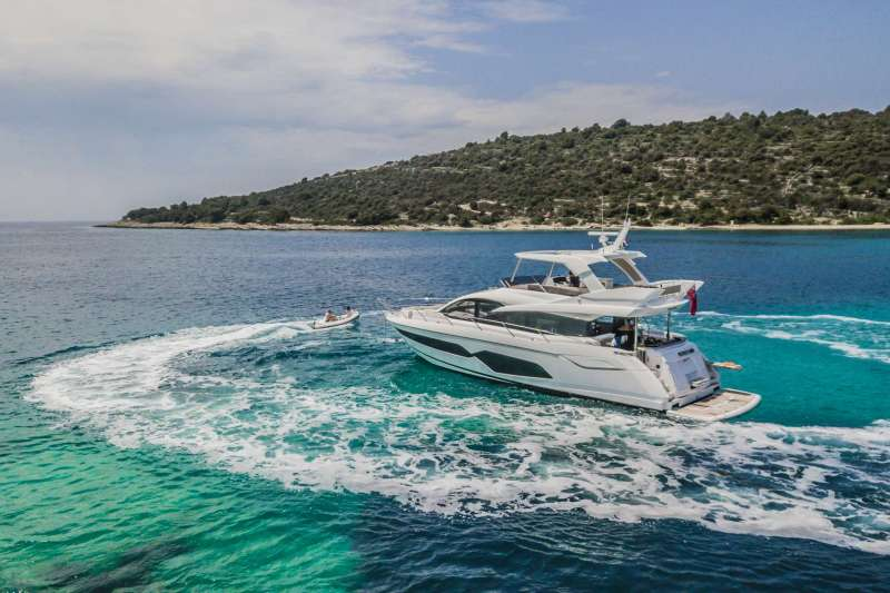 How much does it cost to charter a yacht in Croatia?