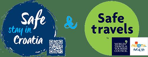 Safe stay in Croatia logo